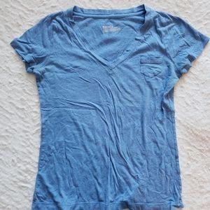 Mossimo V-Neck Boyfriend Shirt